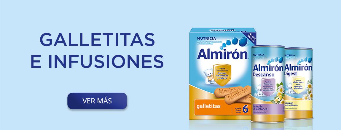 Almirón galletas e infusiones