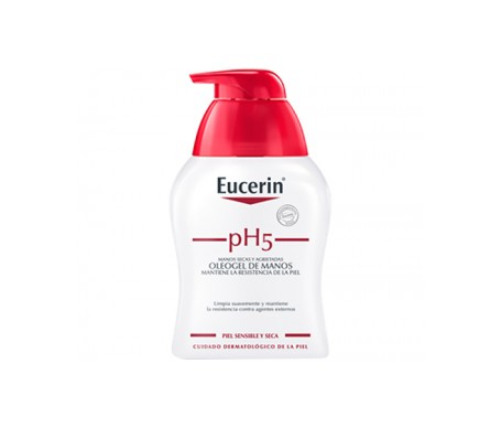 Eucerin oleo gel manos 250ml