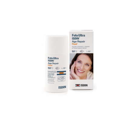 FotoUltra Isdin® Age Repair Fluid SPF50+ 50ml