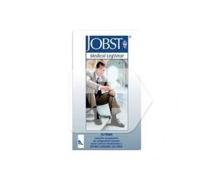 Jobst calcetín compresión normal marrón talla PP 1ud