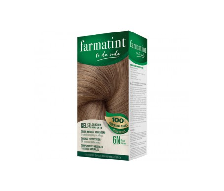 Farmatint 6N rubio oscuro 60ml