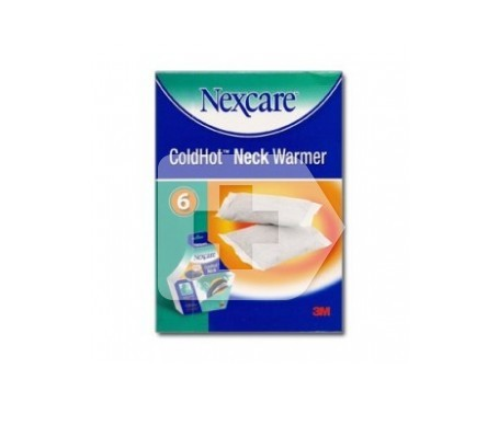 3M Nexcare Coldhot Neck Warmer 6 Cartuchos de calor