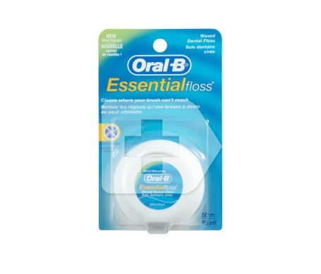 Oral-B Essential Floss seda dental con cera menta 50m 1ud