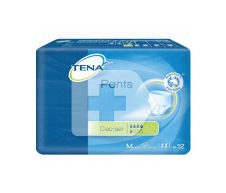 Tena Pants Discreet T-media 12uds