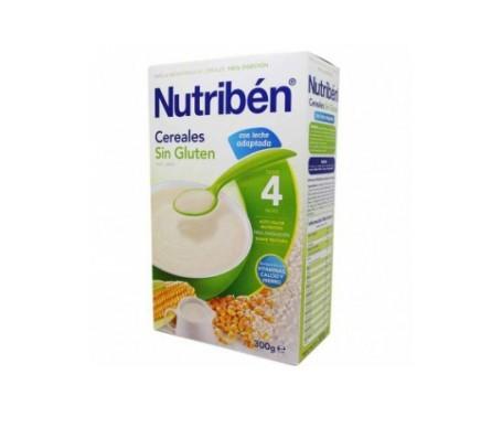 Nutrib n cereales sin gluten con leche adaptada 300g promofarma - Cereales sin gluten bebe 3 meses ...