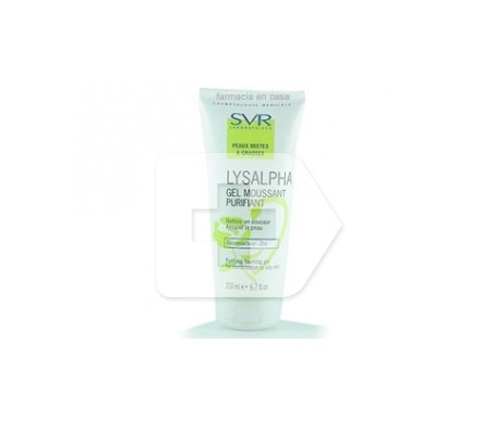 SVR Lysalpha Gel Purificante 200ml