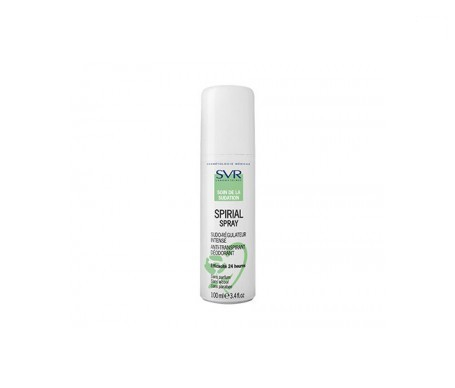 Svr spirial spray antitranspirante 100ml