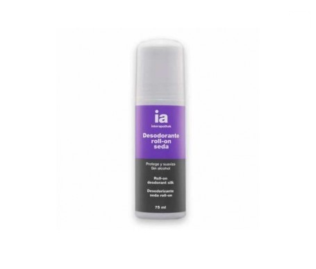 Interapothek desodorante seda roll on 75ml
