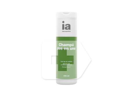 Interapothek champú 2 en 1 400ml