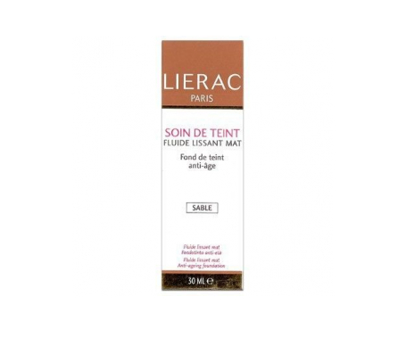 Lierac fluido alisante maquillaje Mate Sable 30ml