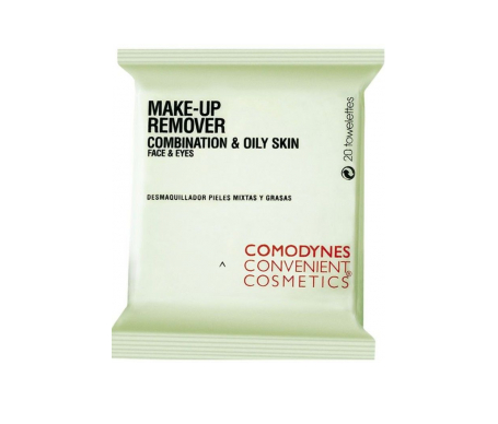 Comodynes Make-Up Remover Oily & Combination Skin 20uds