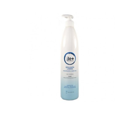 Be+ Emulsión Hidratante Corporal Ligera piel normal 500ml