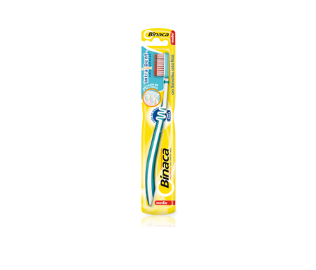 Binaca Aquafresh Extreme Clean cepillo dental adulto medio 1ud