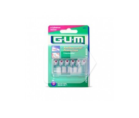 GUM® cepillo interdental Proxabrush 618 recambio 8uds