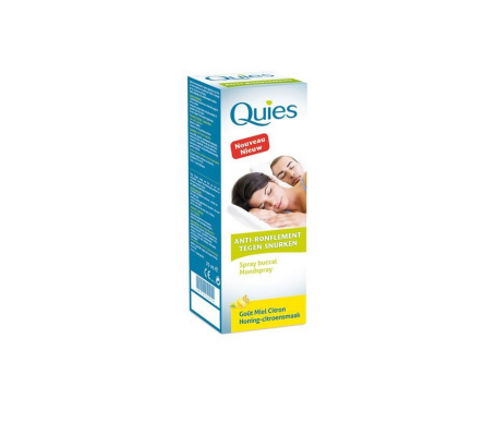 Quies spray bucal Antirronquidos miel y limón 70ml
