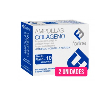 Farline ampollas de colágeno 2ampx2ml