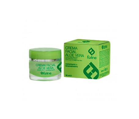Farline Crema Facial con Aloe Vera 50ml