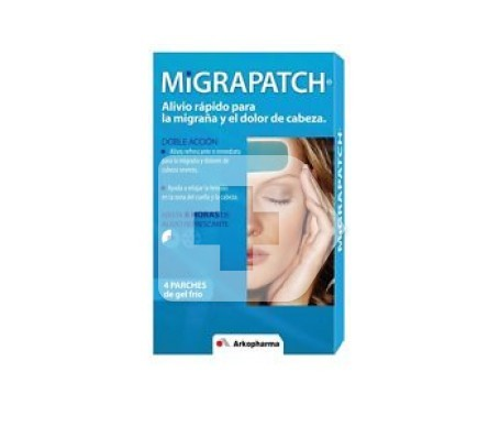 Migrapatch parches fríos 4uds