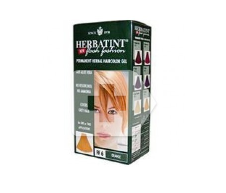 Herbatint Flash Fashion naranja 1 kit