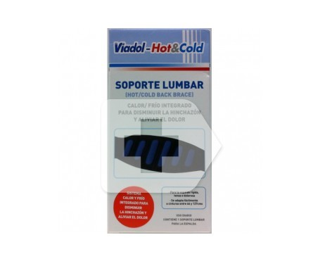 Viadol Hot cold Soporte lumbar