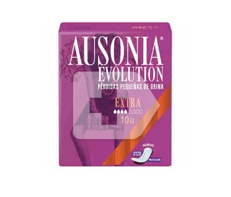 Ausonia® Evolution compresa extra 10uds