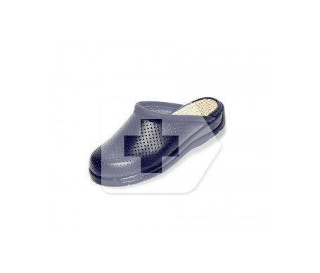 Hankshoes Zueco Confort T 36 azul