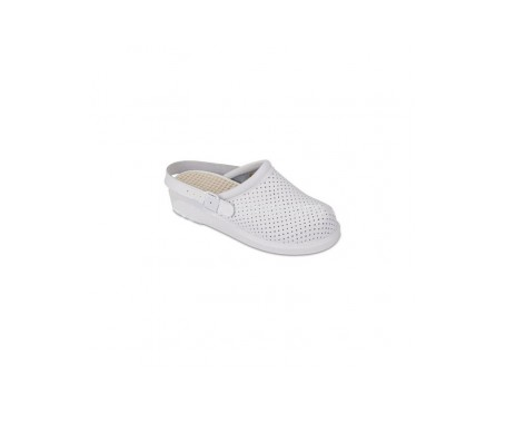 Hankshoes Zueco Relax T 36 blanco