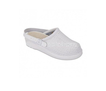 Hankshoes Zueco Relax T 38 blanco