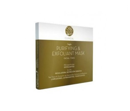 Segle Clinical Purifying&Exfolliant mascarilla 12mlx3uds