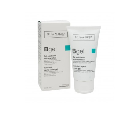Bella Aurora gel exfoliante aclarante 75ml