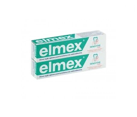 Elmex Pasta Sensitive Plus 75ml+75ml
