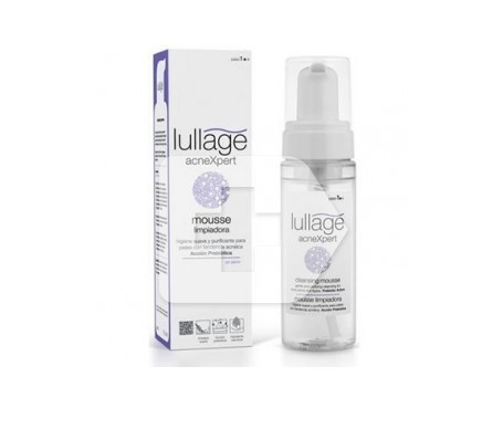 Lullage mousse limpiadora 175ml