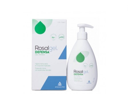 Rosalgel Defensa gel íntimo 250ml