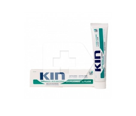 Kin pasta dental con flúor y aloe vera 150ml