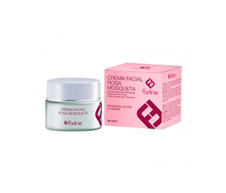 Farline crema facial rosa mosqueta 50ml