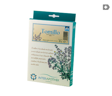 Interapothek tomillo 20g