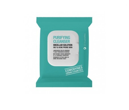 Comodynes Purifying Cleanser Oily&Acne Skin toallitas 20uds