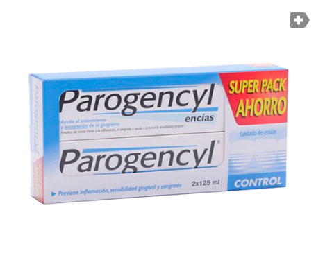 Parogencyl Control pasta dental 125ml+125ml