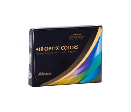 Air Optix® Colors azul brillante 2uds