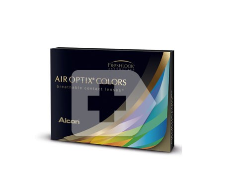 Air Optix® Colors verde gema 2uds