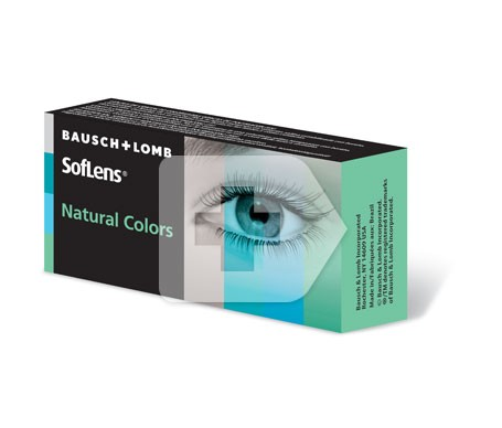 Bausch&Lomb Natural Colors azul topacio 2uds