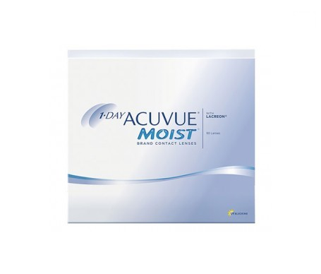 J&J 1-DAY 90PK ACUVUE MOIST 9.0 (+1.25)