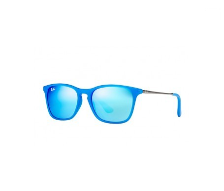 Ray-Ban Chris Junior Azul Espejada 49mm lente