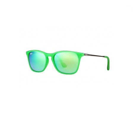 Ray-Ban Chris Junior Verde Espejada 49mm lente