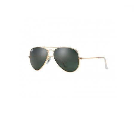 Ray-Ban Aviator Classic Green Classic G-15 55mm lente