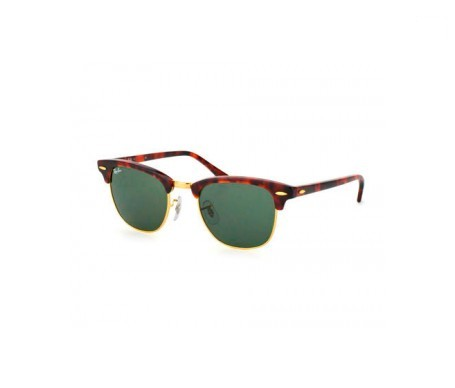 Ray-Ban Clubmaster Classic Verde Clásica G-15 51mm lente
