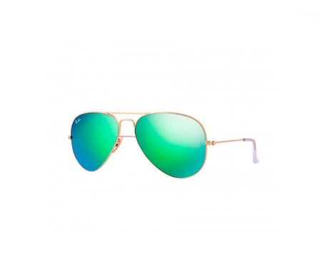 Ray-Ban Aviator Flash Lenses Green Flash 58mm lente