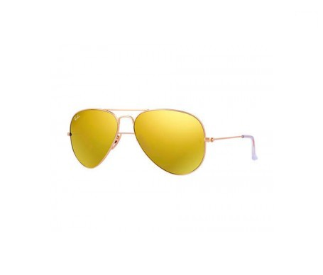 Ray-Ban Aviator Flash Lenses Amarillo Flash 58mm lente