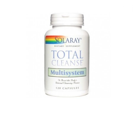 Solaray Total Cleanse Multisystem 120cáps