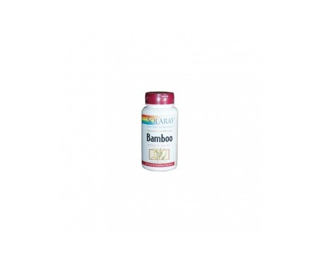 Solaray bamboo 300mg 60cáps
